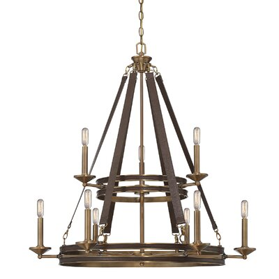 Clarice 9-Light Candle-Style Chandelier