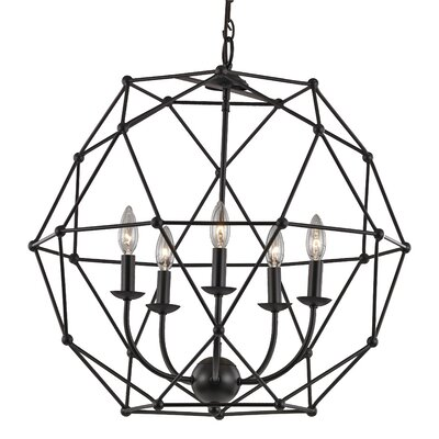 Olivia 5-Light Globe Pendant