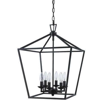 Carmen 6-Light Foyer Pendant Finish: Rubbed Oil Bronze