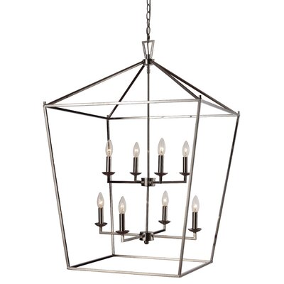 Carmen 8-Light Foyer Pendant Finish: Polished Chrome