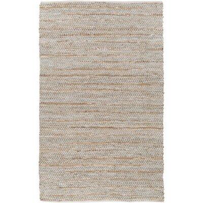Onaway Beige/Gold Area Rug Rug Size: 4 x 6
