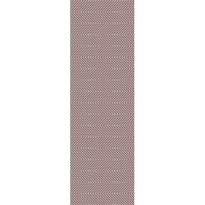 Onaway Red Area Rug Rug Size: Runner 26 x 8