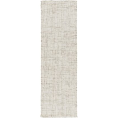 Finleyville Hand-Woven Medium Gray Area Rug Rug size: Runner 26 x 8