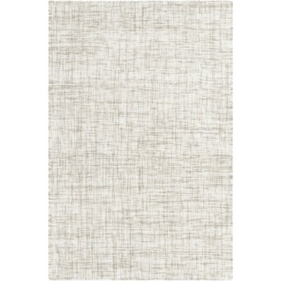 Finleyville Hand-Woven Medium Gray Area Rug Rug size: 33 x 53