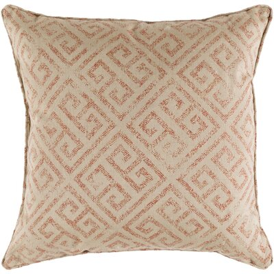 Castres Indoor/Outdoor Throw Pillow Size: 20 H x 20 W x 0.25 D, Color: Burnt Orange
