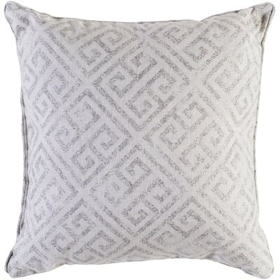 Castres Indoor/Outdoor Throw Pillow Size: 20 H x 20 W x 0.25 D, Color: Gray