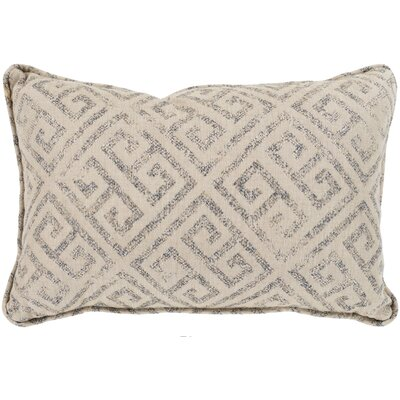 Regina Indoor/Outdoor Lumbar Pillow Color: Camel