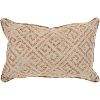 Regina Indoor/Outdoor Lumbar Pillow Color: Burnt Orange