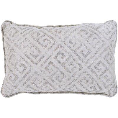 Regina Indoor/Outdoor Lumbar Pillow Color: Gray