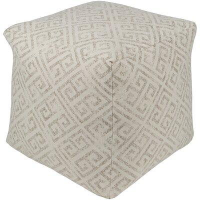 Regina Pouf Ottoman Upholstery: Tan