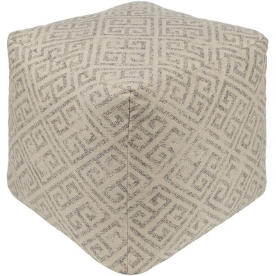 Regina Pouf Upholstery: Taupe
