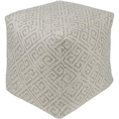Regina Pouf Ottoman Upholstery: Beige