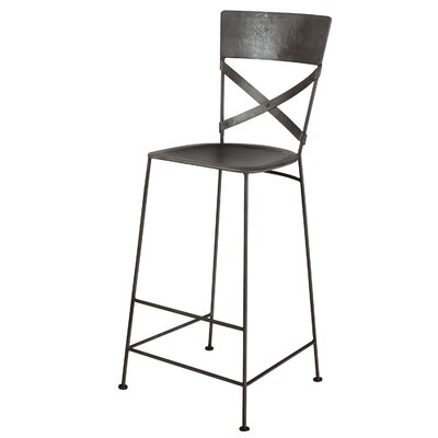 East Hope 30 Bar Stool Finish: Zinc