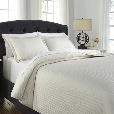 Desiree 3 Piece Coverlet Set Size: Queen