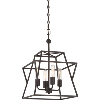 Osburn 4-Light Foyer Pendant