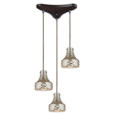 Orofino 3-Light Cascade Pendant