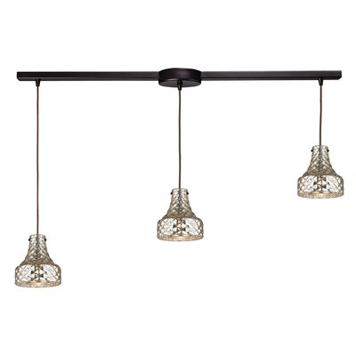 Orofino 3-Light Kitchen Island Pendant