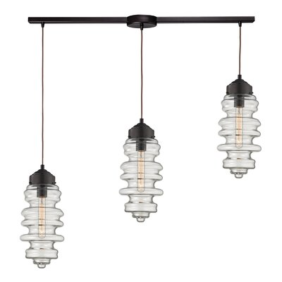 Farah 3-Light Kitchen Island Pendant