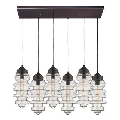 Cera 6-Light Kitchen Island Pendant