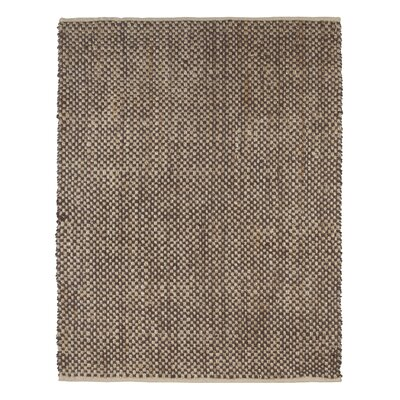 Talmo Hand-Woven Brown Area Rug