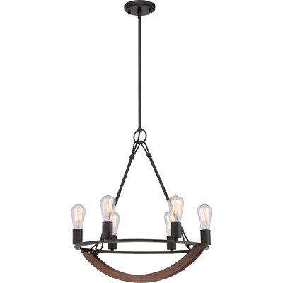 Ouellet 6-Light Candle-Style Chandelier