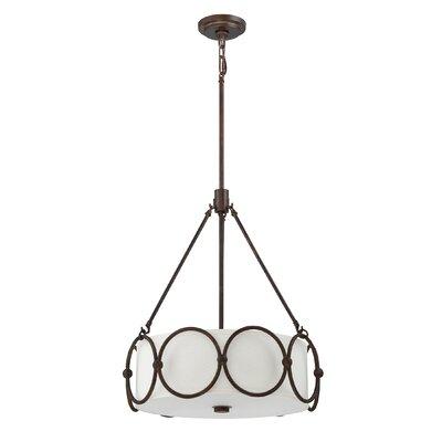 Olympia 4-Light Drum Pendant