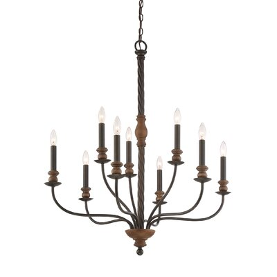 Harley 9-Light Candle-Style Chandelier