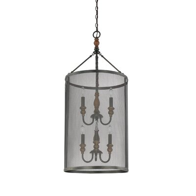 Demarie 6-Light Drum Pendant