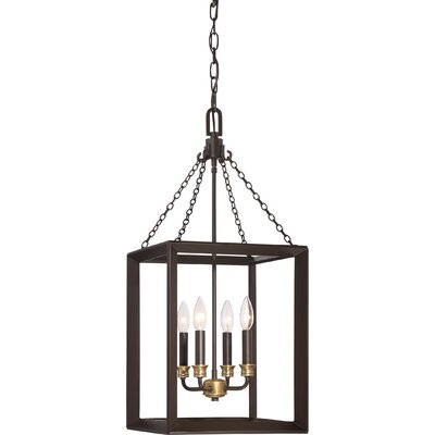 Ethyl 4-Light Foyer Pendant