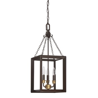 Ethyl 3-Light Foyer Pendant