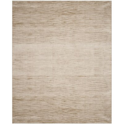 Jessup Hand-Woven Creamy Custard Area Rug Rug Size: Rectangle 6 x 9