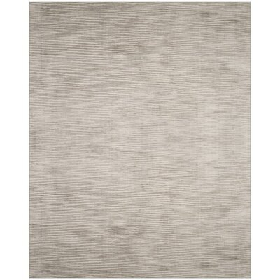 Jessup Hand-Woven Beige Area Rug Rug Size: Rectangle 9 x 12