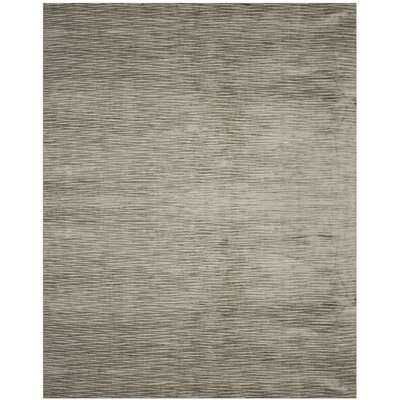 Jessup Hand-Woven Brown Area Rug Rug Size: Rectangle 9 x 12