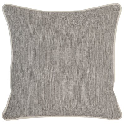 Trion Throw Pillow Color: Dark Gray