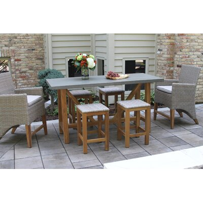 Affordable Theophile Counter Height Dining Set - Product picture - 1334