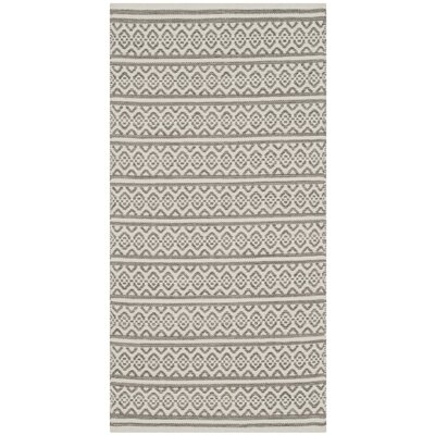 Oxbow Hand-Woven Ivory Area Rug Rug Size: Rectangle 3 x 5