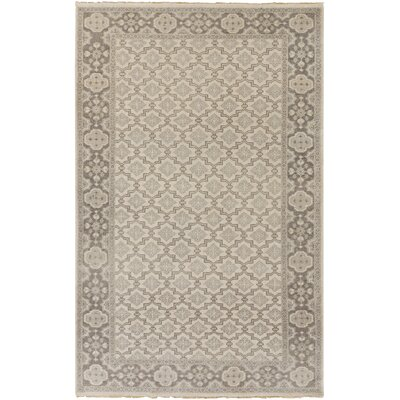 Karlee Beige/Gray Area Rug Rug Size: Rectangle 2 x 3