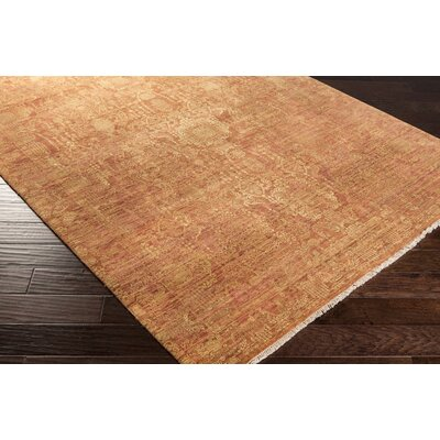 Knoxville Poppy/Gold Rug Rug Size: Rectangle 8 x 10
