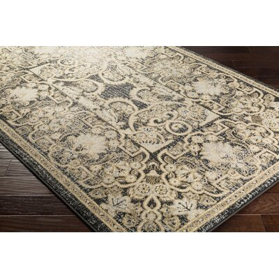 Kulpmont Khaki Area Rug Rug size: Rectangle 53 x 76