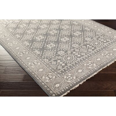 Bevan Pewter Rug Rug Size: Rectangle 8 x 11