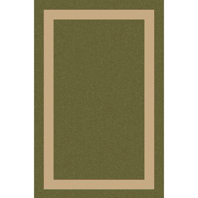 Koppel Hand-Woven Grass Green/Khaki Area Rug Rug size: Rectangle 4 x 6
