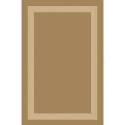 Koppel Hand-Woven Tan/Beige Area Rug Rug size: Rectangle 4 x 6