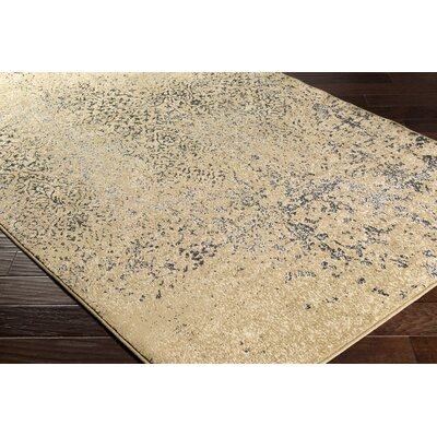 Kulpmont Tan Area Rug Rug size: Rectangle 2 x 3