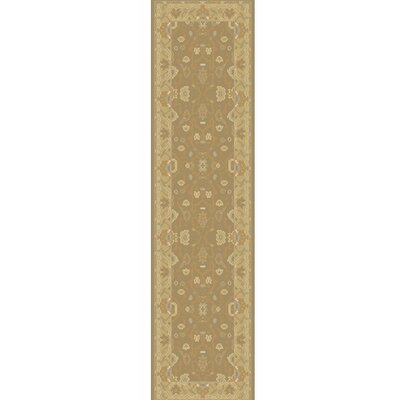 Matthias Hand-Knotted Brown Area Rug Rug Size: Runner 26 x 8