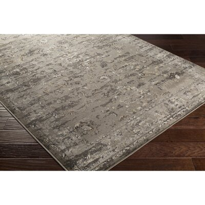 Jeddo Brown Area Rug Rug Size: 53 x 76