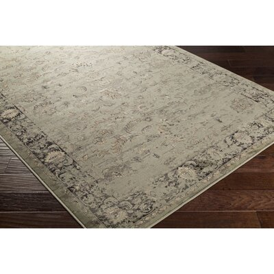 Jeddo Rectangle Brown/Yellow Area Rug Rug Size: Rectangle 53 x 76