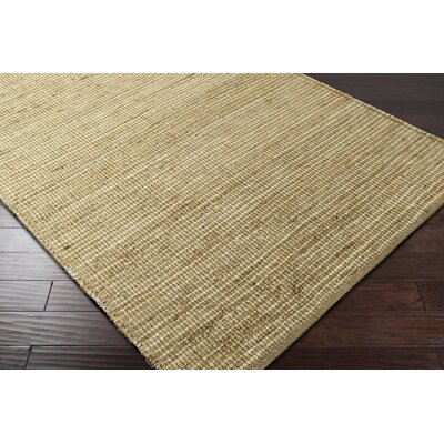 Langhorne Hand-Woven Green/Neutral Area Rug Rug Size: Rectangle 5 x 76