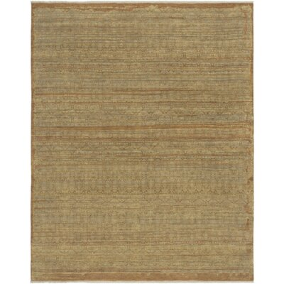 Dulac Hand Knotted Wool Camel Area Rug Rug Size: Rectangle 9 x 12