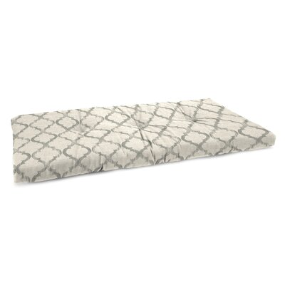 Tufted Linen Indoor Bench Cushion Fabric: Enhance Graystone