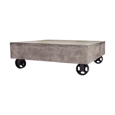 Shalini Caster Coffee Table